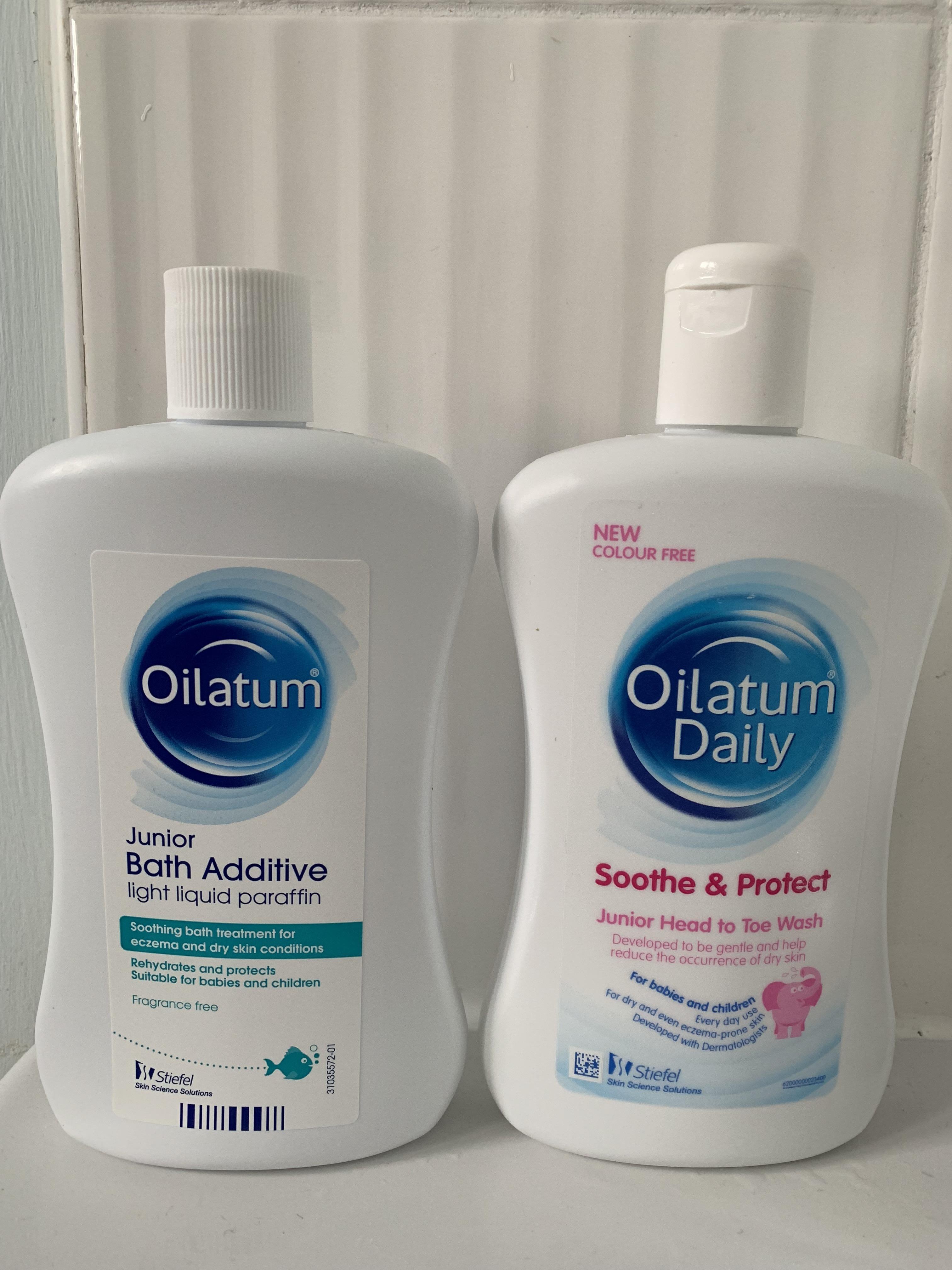 Oilatum Bath Additive and Head to Toe Wash