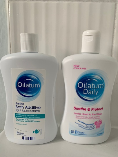 Oilatum Bath Additive and Head to Toe Wash